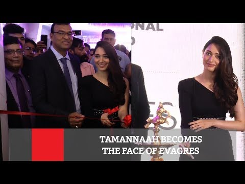 Tamannaah Becomes The Face Of Evagres thumbnail