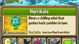 Boosted Hurrikale - Hack - Plants vs. Zombies 2