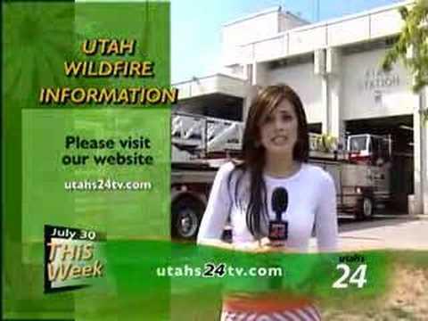 Utah's 24 Community Calendar 07/30/07 - Wildfires