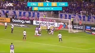 Cruzeiro 1x0 Corinthians