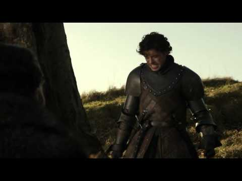 Robb Stark After His Father Was Killed - Game of Thrones 1x10 (HD)