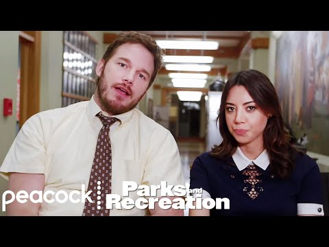 Parks and Recreation - April and Andy (Behind The Scenes)