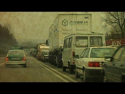 Vor 20 Jahren: Grenzstau in Frankfurt/ Oder