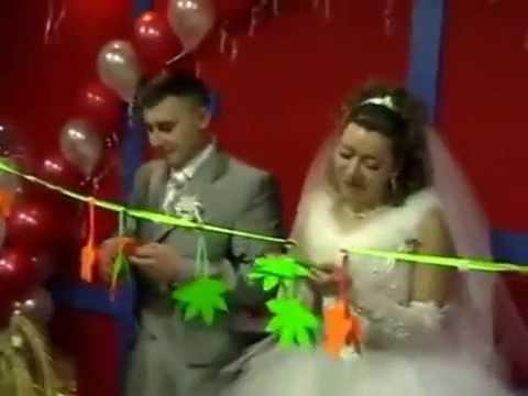 Конкурс на свадьбе для жениха и невесты.Гадание.