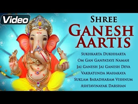 Lord Ganesh - Aarti Sangrah - Devotional Aarti Compilation video