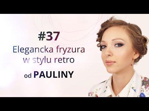 Elegancka Fryzura W Stylu Retro Od Pauliny