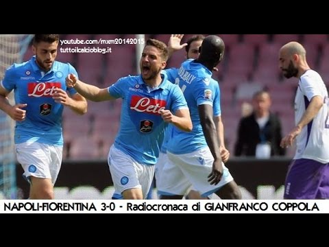 NAPOLI-FIORENTINA 3-0 - Radiocronaca di Gianfranco Coppola (12/4/2015) da Radiouno RAI