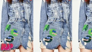 ZARA Removes Skirt With Pepe The Frog Design