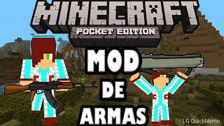 Mod de armas | Minecraft pocket edition 0.13.0 alpha