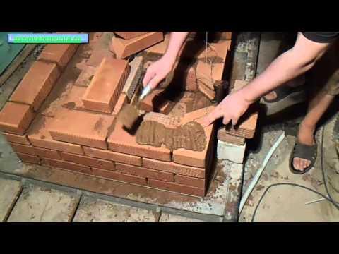 Установка піддувальної дверцята із замковим перекриттям при кладці печі DVDRip навчальне відео