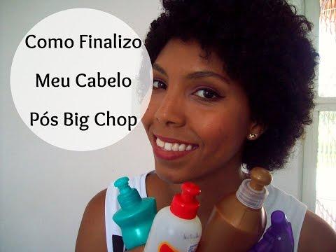 Como Finalizo Meu Cabelo (Pós Big Chop) / Jéssica Macedo