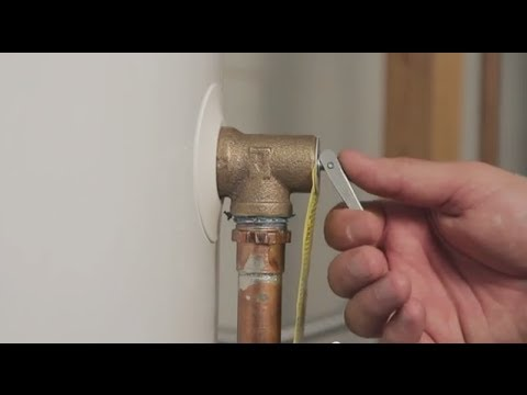 How To Test Your Water Heater U0026 39 S Temperature And Pressure Relief Valve