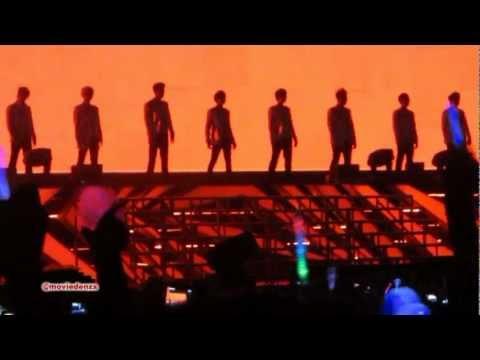 [fancam] 120922 Super Junior - Superman - Sm Town World Tour In Jakarta, Indonesia video