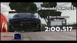 iRacing - Mercedes AMG GT3 @ Mount Panorama (Bathurst) | 2:00.517 - HotLap