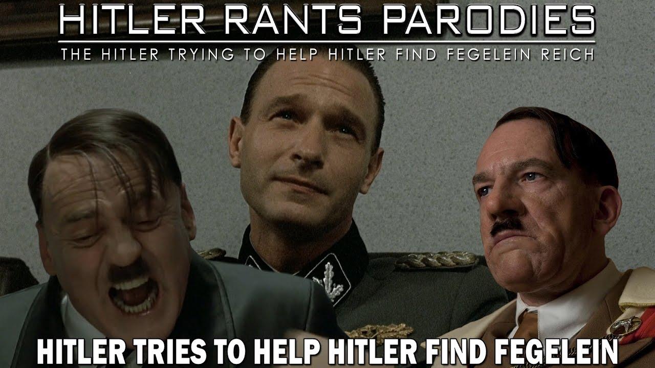 Hitler tries to help Hitler find Fegelein