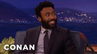 Donald Glover's Sexy Coyote Confrontation  - CONAN on TBS