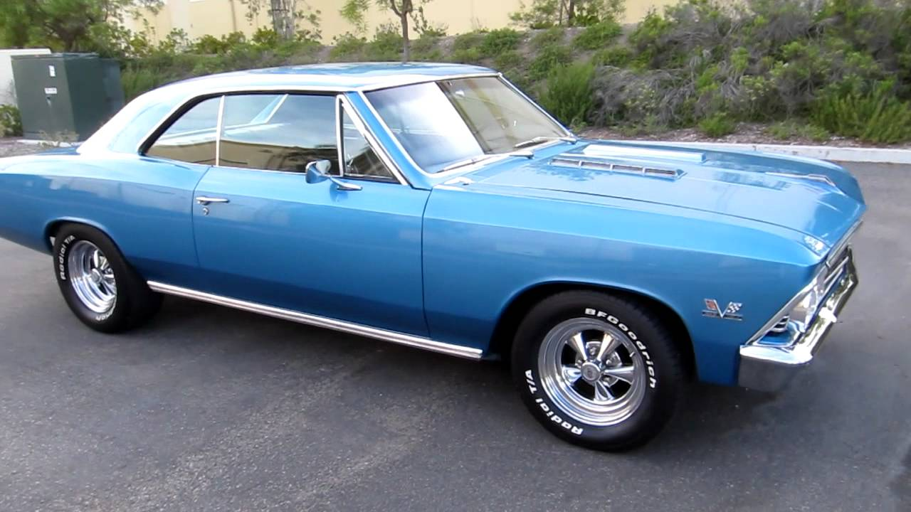 1966 Chevelle 396 Marina Blue Stunning Youtube