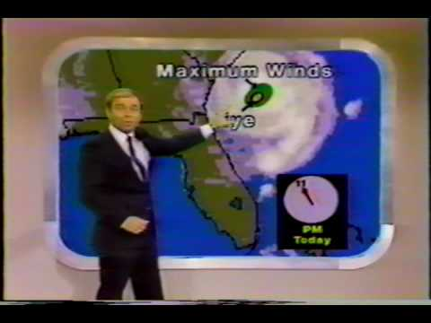 Hurricane Season of 1984 TV-Coverage! Part-1