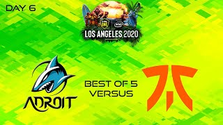 Androit vs Fnatic | Bo5 | ESL One Los Angeles 2020 - Online: Southeast Asia
