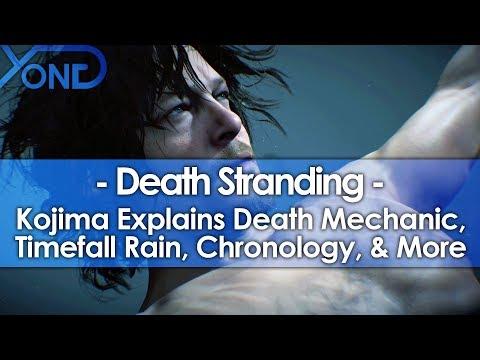 Death Stranding's Death Mechanic, Timefall Rain, Chronology, & More Explained