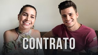 Contrato - Jorge e Mateus (Cover por Mariana e Mateus)