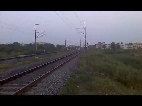 Wap-7 Mas Raj 100 Kmph video