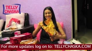 EXCLUSIVE - NIA SHARMA 25th BIRTHDAY's GIFT SEGMENT - PART-2