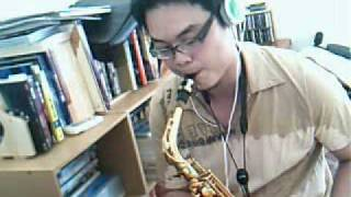 Misty on alto sax