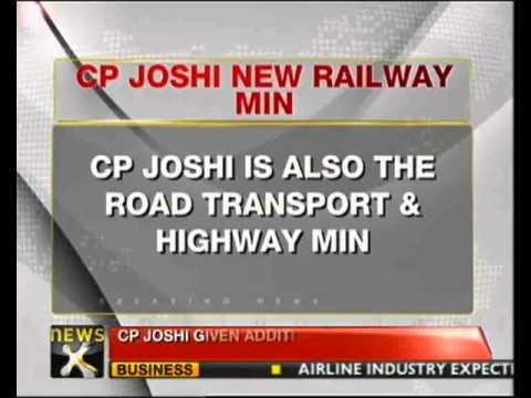 CP Joshi replaces Mukul Roy, gets Railway Ministry - NewsX