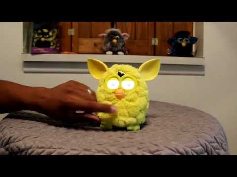 New Furby 2012 unboxing in depth detailed review part 2/2