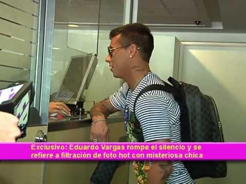 Exclusivo- Eduardo Vargas rompe el silencio y se  refiere a filtración de foto hot con misteriosa chica