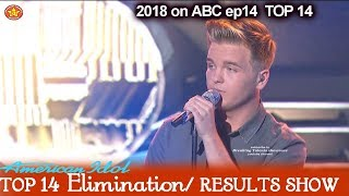 "Caleb Lee Hutchinson ""Getting You Home""  Victory Song Top 10 American Idol 2018 Top 14 Results Show"