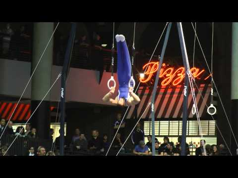 Edward Mesa - Still Rings - 2012 Winter Cup Finals