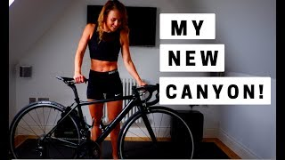 NEW CANYON! Chanel talks you through her new roadbike.