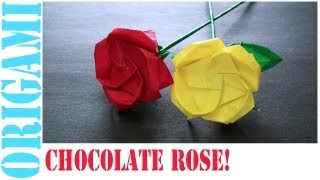 Chocolate Rose: Daily Origami - 487 [tcgames Hd]