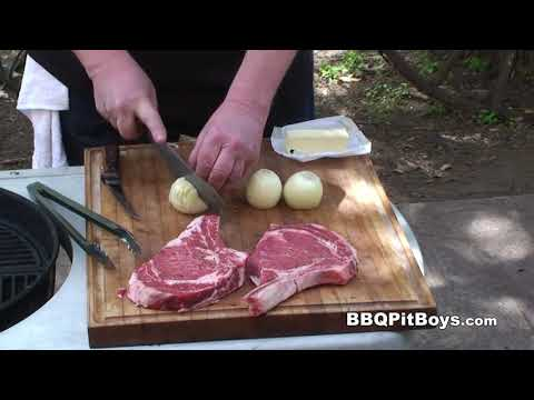 Rib Steaks and Beef Sauce Recipe by the BBQ Pit Boys