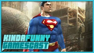 Greg Miller's Superman Game Pitch - Kinda Funny Gamescast Ep. 185