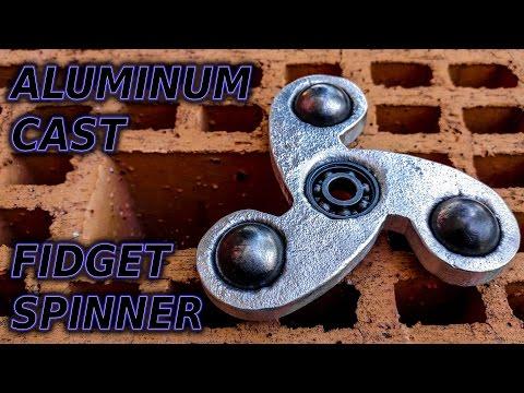 Aluminum Cast Fidget Spinner