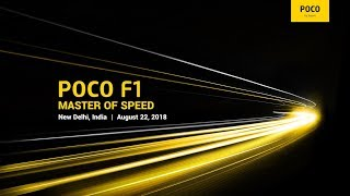 POCO F1 Global launch