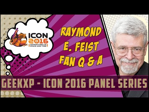 Raymond E. Feist - World Building 101: Creating the world in Fantasy and Fiction writing #Icon2016