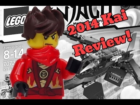 2014 LEGO Ninjago Minifigure Kai Review from 70721 Kai Fighter