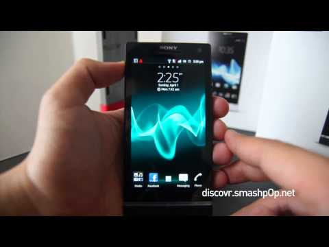 Sony Xperia S Hands-On Review  [HD]