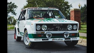 1978 WRC Champion Fiat Abarth 131 'Alitalia' Group 4 - One Take
