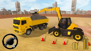 Real Road Construction Game 2018 - Heavy Excavator Simulator - Android Gameplay [HD]