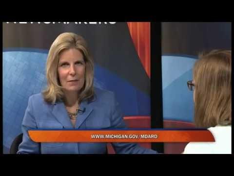 Comcast Newsmakers interview with MDARD Director Jamie Clover Adams