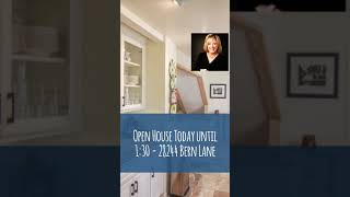 Open House Today until 1:30 - 28244 Bern Lane
