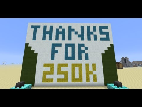 A Minecraft Magic Trick–SethBling's Quarter Million Subscriber Special – 2MineCraft.com