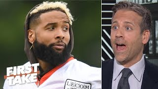 Odell Beckham Jr. is a problem for the Steelers, not the Browns - Max Kellerman | First Take