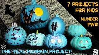 Happy Jack:  Teal Pumpkin Project 2 of 7