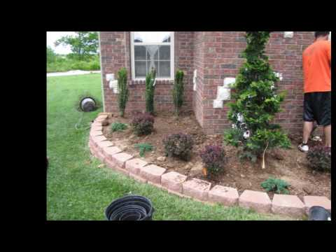 Landscape & Lawn Service , Tree, shrub, mulch, perennials, flowers, landscape lighting